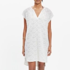 Madewell White Cover-up Cannes Tunic M